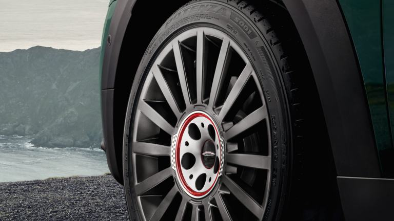 "Jante MINI – JCW de 18"" Grip Spoke, tip 520 – în Argintiu Bright metalizat"